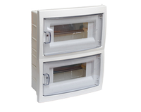 Бокс для автоматических выключателей (16-местный скрытой установки с дверцей)