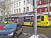 Реклама на троллейбусе в Киеве