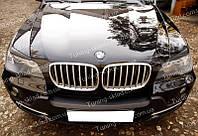 Реснички BMW X5 E70 (накладки на передние фары БМВ Х5 Е70)