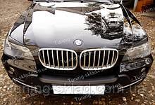 Вії BMW X5 E70 (накладки на передні фари БМВ Х5 Е70)
