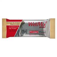 """WellMix Sport  Protein Riegel """"Cookies & Cream-Geschmack"""" - Протеиновый батончик со сливочным печеньем, 70 г"""
