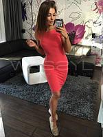 Женское летнее Платье красное  р. 42,44,46