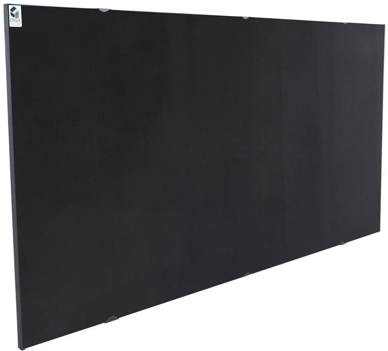 Керамический настенный обогреватель ENSA CR1000 Black (950Вт 18м2 600x1200мм)