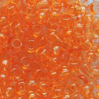 Бисер Preciosa Чехия №01184 1г, светлый оранжевый прозрачный