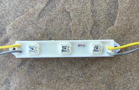 Светодиодный модуль пиранья MP-3Y120* желтый IP65 Код.53770