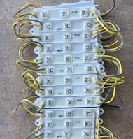 Светодиодный модуль пиранья MP-3Y120* желтый IP65 Код.53770, фото 1