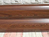 Металлосайдинг/Сайдинг металлический сруб деревянный printech Венге