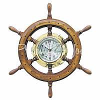 Морской сувенир часы Штурвал, d-63 см.,1210 Sea Club