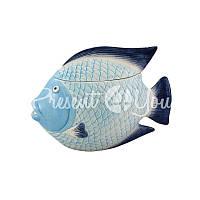 Морской сувенир шкатулка декор «Рыбка», 27,5х15х18,5 см.