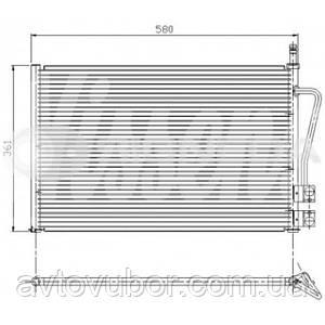 Радиатор кондиционера Ford Fusion 03-08 RC94587 2S6H19710AB