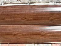 Металлический сайдинг/Сайдинг металлический сруб деревянный printech Марокканский Орех