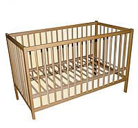 Кроватка для детей, не лакированная, Labona КРОХА № 1