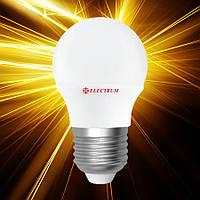 Светодиодная лампа ELECTRUM D45 6W E27 PA LB-9