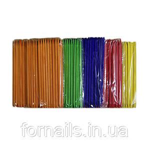 Апельсиновые палочки цветные (12 см)