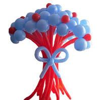 """Букет из шаров """"Нежность"""" 11 цветков на подставке"""