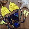 Женский раздельный купальник с декором в расцветках. Ку-7-0317, фото 2