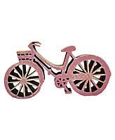 Декоративное изделие Велосипед розовый