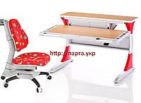 Парта трансформер и кресло для девочек, фото 1