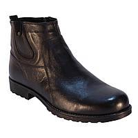 Ботинки мужские кожаные на  меху 44р.