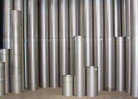 Труба дымоходная одностенная из нержавеющей стали длина 0,3 м, диаметр 180 мм
