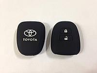 Силиконовый чехол на ключ Toyota 2 кнопки тип2
