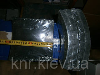 Накладки тормозные задние (16 шт на машину) FAW 3252(Фав 3252)