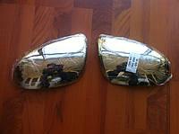 Накладки на зеркала (нерж.) Mazda 2