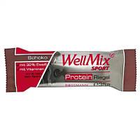 "WellMix Sport  Protein Riegel ""Schoko"" -  ПРОТЕИНОВЫЙ БАТОНЧИК С ВКУСОМ шоколада, 35 г"