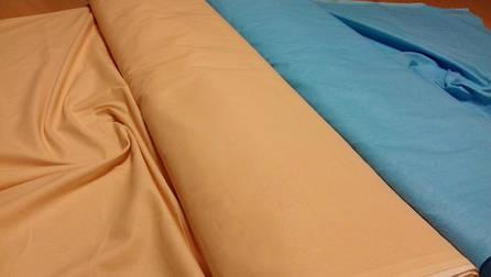 """Простынь """"Персик"""", поплин (200*220см) Комфорт-текстиль, фото 2"""