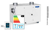 Domekt RHP 600 U Вентиляционная установка с роторным теплоутилизатором и тепловым насосом
