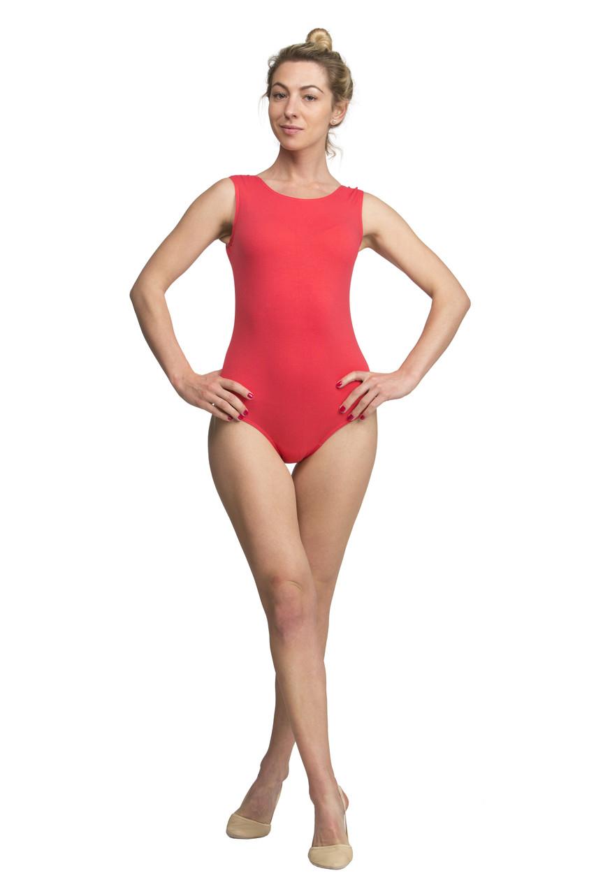 """Купальник для танцев с рукавом """"майка"""" х/б женский - «Dance & Sport» — оптово-розничный интернет-магазин одежды для спорта и танцев в Одессе"""