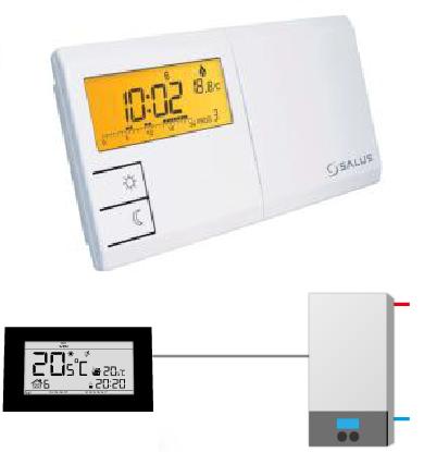 Комнатный регулятор температуры Salus 091 FL, фото 2