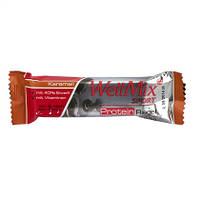 "WellMix Sport  Protein Riegel ""Karamell"" - ПРОТЕИНОВЫЙ БАТОНЧИК С ВКУСОМ карамели, 45 Г"