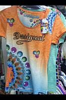 """Стильная турецкая футболка """"Desigual""""."""
