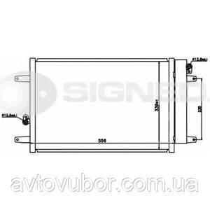 Радіатор кондиціонера Ford Galaxy 00-06 RC94575 1108838