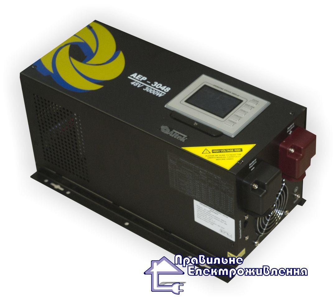 Інвертор із функцією ДБЖ Altek AEP-1012/24 1000 Вт