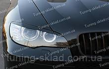 Вії на фари BMW X6 E71 (накладки на передні фари БМВ Х6 Е71)