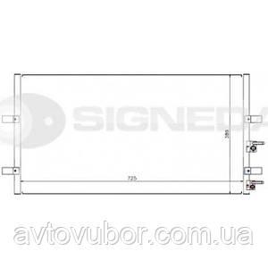 Радиатор кондиционера Ford Transit 06-14 RC94915 1383318