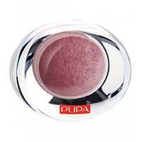 Тени для век Pupa 1-цветные запеченные с эффектом атласа Luminys Silk 2.2g