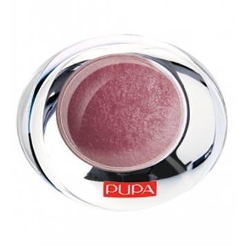 Тіні для повік Pupa 1-кольорові запечені з ефектом атласу Luminys Silk 2.2 g