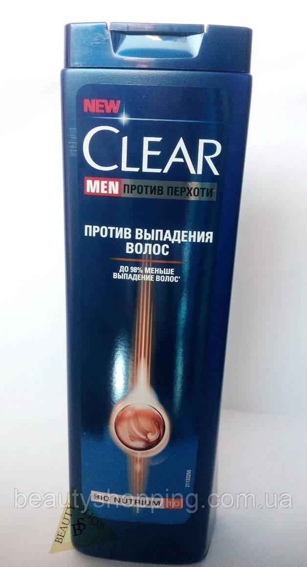 Шампунь для мужчин Clear vita Abe Hair Fall против выпадения волос 400 мл
