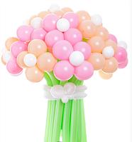 Букет «Весенняя пора»  23 цветка из шаров