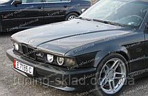 Вії БМВ Е32 (накладки на передні фари BMW E32)