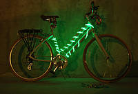 Подсветка для велосипеда холодным гибким неоном 2.6мм