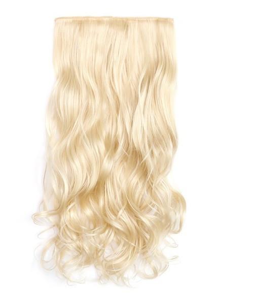 Кучеряве трес,накладне волосся на затисках