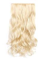 Кучеряве трес,накладне волосся на затисках, фото 1