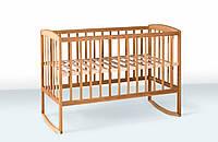 Кроватка для детей на дуге (бук), Гойдалка