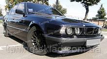 Вії BMW 5 E34 (накладки на передні фари БМВ 5 Е34)