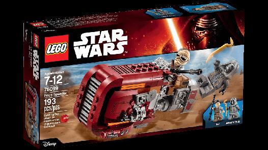 Конструктор LEGO Star Wars Спідер Рей 75099 (Rey's Speeder)