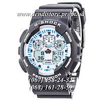 Часы Casio G-Shock Ga-100 White-Black Dial